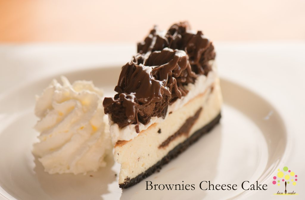 Brownies Cheese Cake