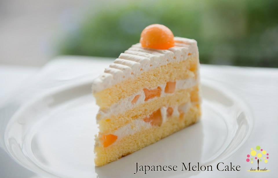 Japanese Melon Cake